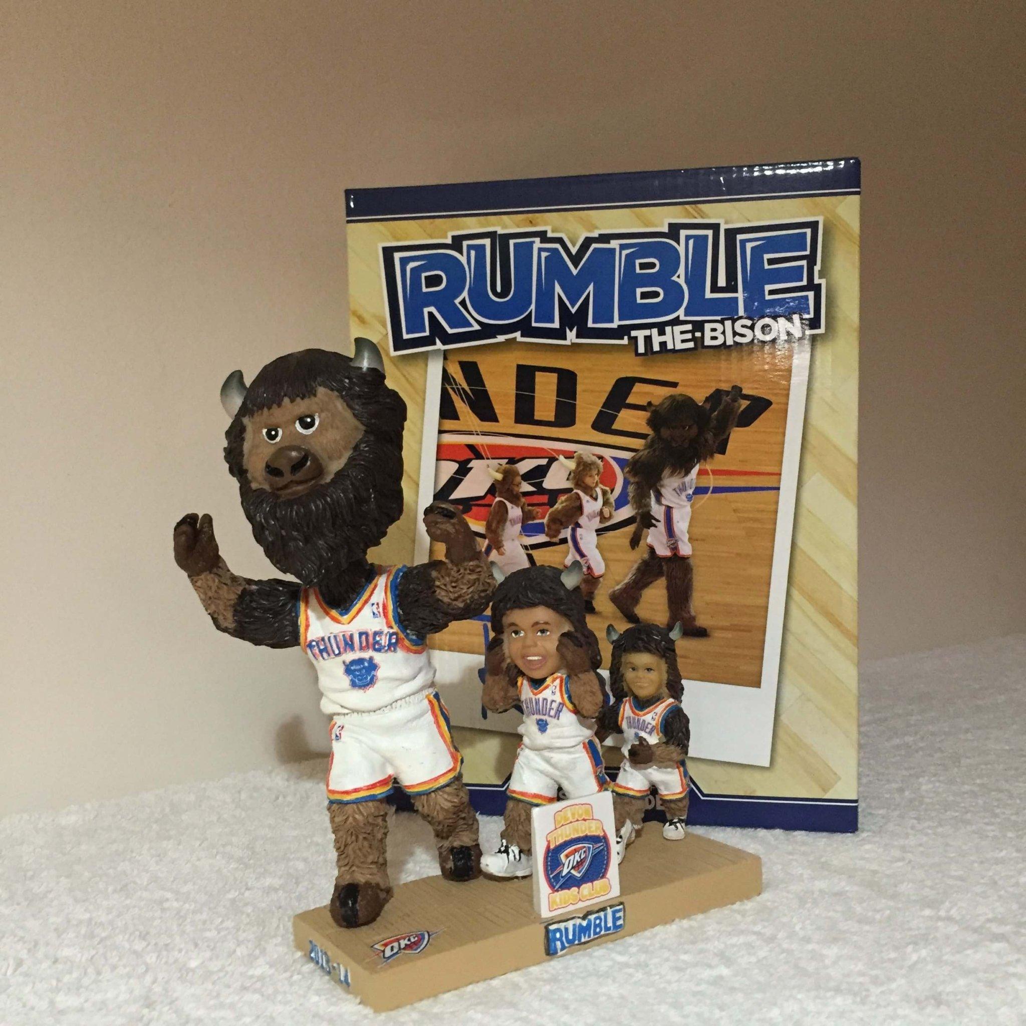 Rumble Mascot
