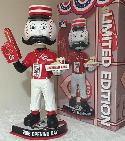 Bobble of the Day-Mr. Redlegs