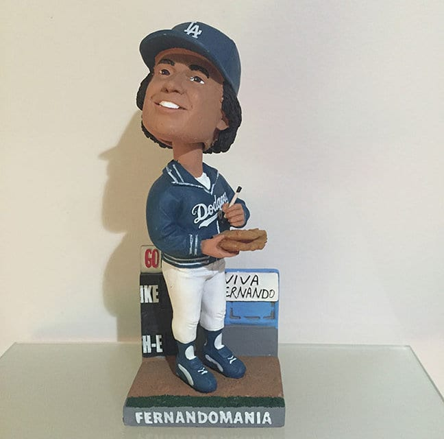 Bobble of the Day-Fernando Valenzuela