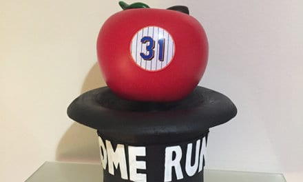 "Bobble of the Day Mike Piazza ""Homerun Apple"""