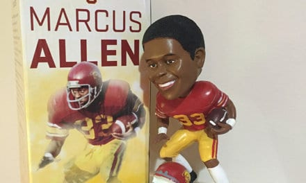 "Bobble of the Day Marcus Allen ""USC"""