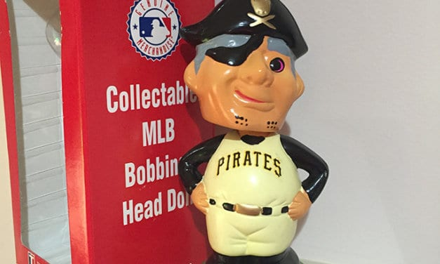 Bobble of the Day TEI Pirates Mascot
