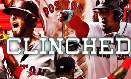 The Red Sox Win The AL East!!!