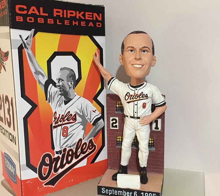 """Bobble of the Day """"Cal Ripken Jr."""""""