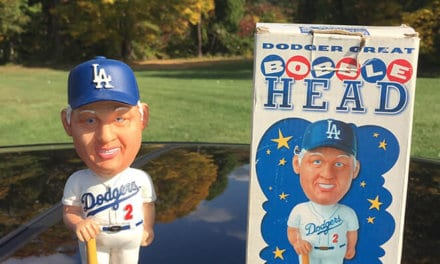 "Bobble of the Day ""Tommy Lasorda"""