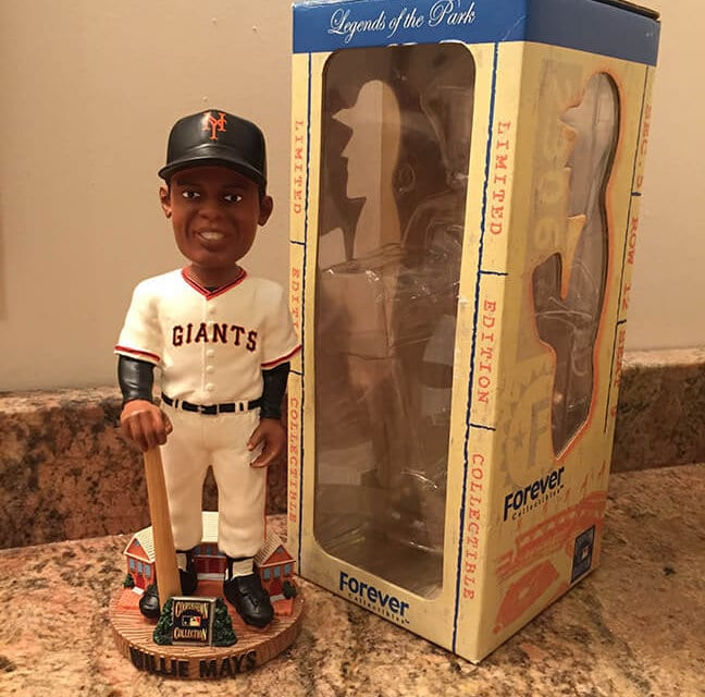 "Bobble of the Day ""Willie Mays"""