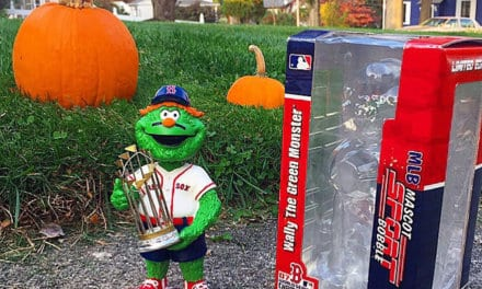 "Bobble of the Day ""Wally The Green Monster"""