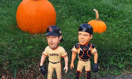 Bobble of the Day Madison Bumgarner-Buster Posey