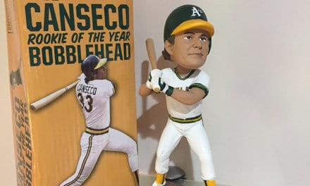 "Bobble of the Day ""Jose Canseco"""