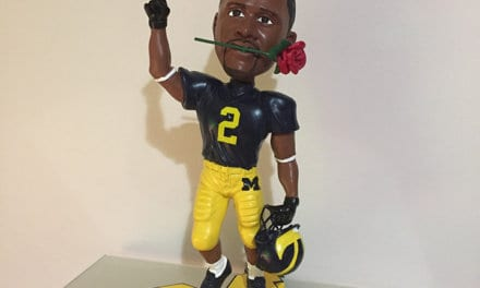 "Bobble of the Day ""Charles Woodson"" Rose Bowl"