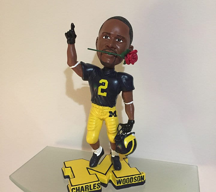 """Bobble of the Day """"Charles Woodson"""" Rose Bowl"""