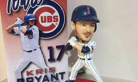 "Bobble of the Day ""Kris Bryant"" Iowa Cubs"