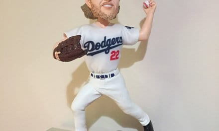 "Bobble of the Day ""Clayton Kershaw"" Real Jersey"