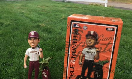 Bobble of the Day Buster Posey FSU