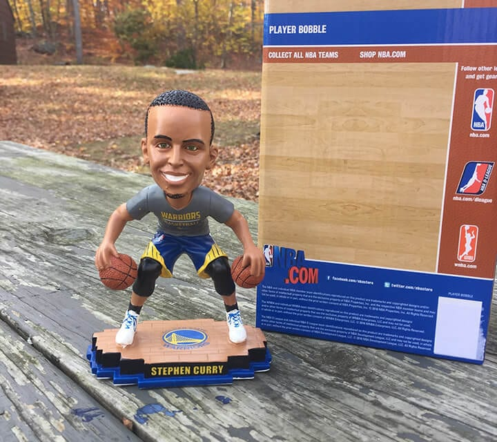 "Bobble of the Day ""Stephen Curry"" Warmup Routine"