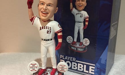 "Bobble of the Day ""Mike Trout"""