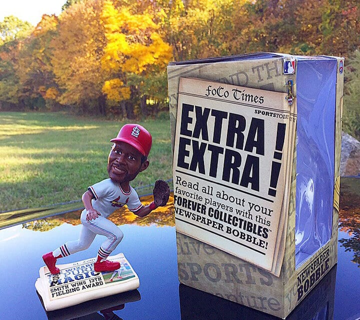 """Bobble of the Day """"Ozzie Smith"""""""
