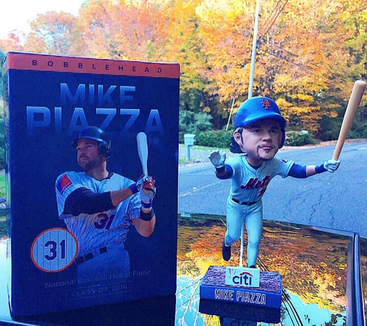 "Bobble of the Day ""Mike Piazza"""