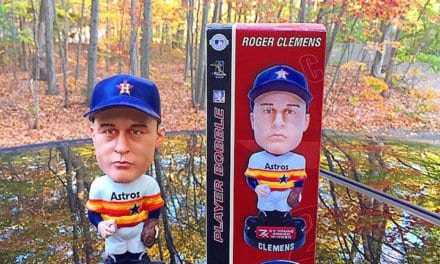 "Bobble of the Day ""Roger Clemens"" Cy Young Award"