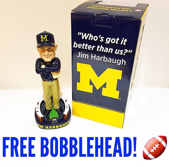 Free Bobblehead Giveaway Tonight!