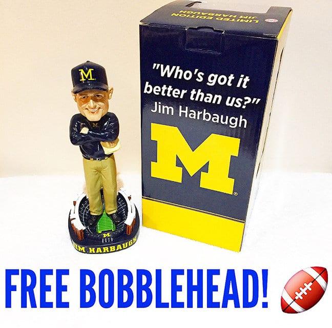 Free Bobblehead Giveaway Tonight!
