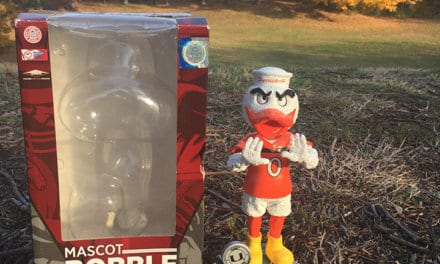 "Bobble of the Day Miami Hurricanes ""Sebastian Mascot"""