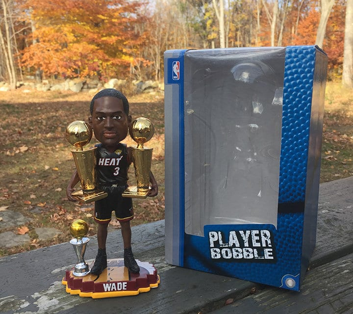 "Bobble of the Day ""Dwayne Wade"""