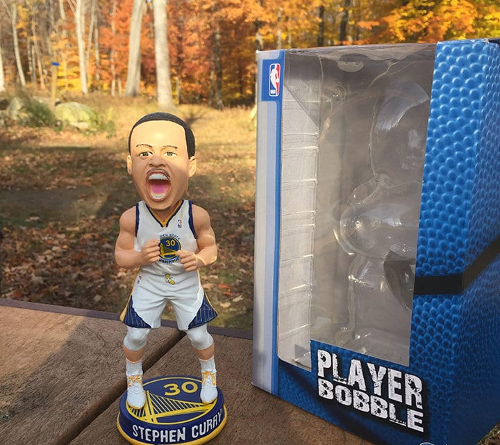 "Bobble the Day ""Stephen Curry"""