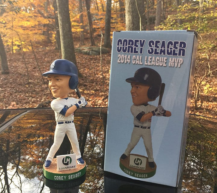 "Bobble of the Day ""Corey Seager"""