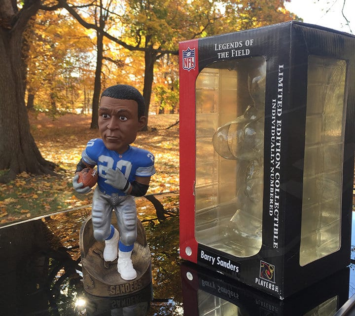 "Bobble of the Day ""Barry Sanders"""