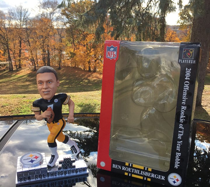 "Bobble of the Day "" Ben Roethlisberger"""