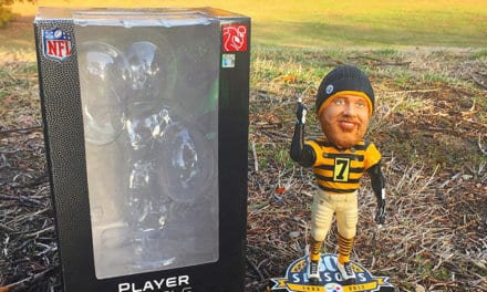 "Bobble of the Day ""Ben Roethlisberger"" Retro Uni"