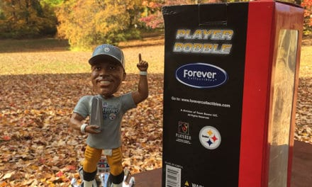 "Bobble of the Day ""Hines Ward"""