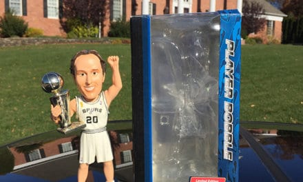 "Bobble of the Day "" Manu Ginobili"""
