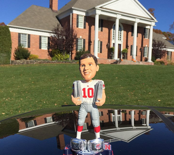 """Bobble of the Day """"Eli Manning"""""""