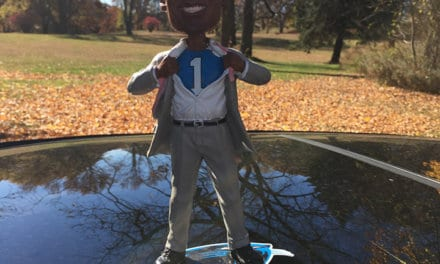"Bobble of the Day ""Cam Newton"" Superman"