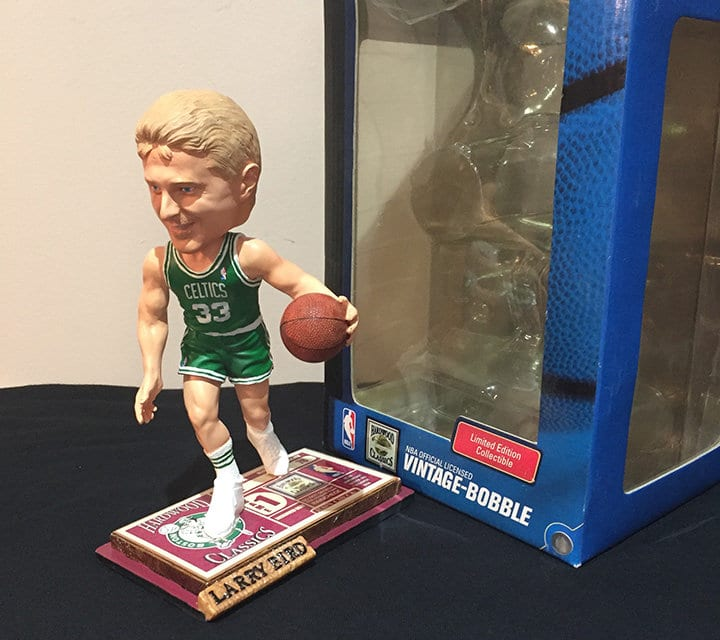 "Bobble of the Day ""Larry Bird"""