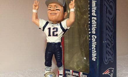 "Bobble of the Day ""Tom Brady"""