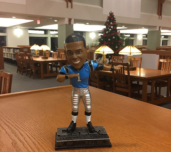 "Bobble of the Day ""Cam Newton"""