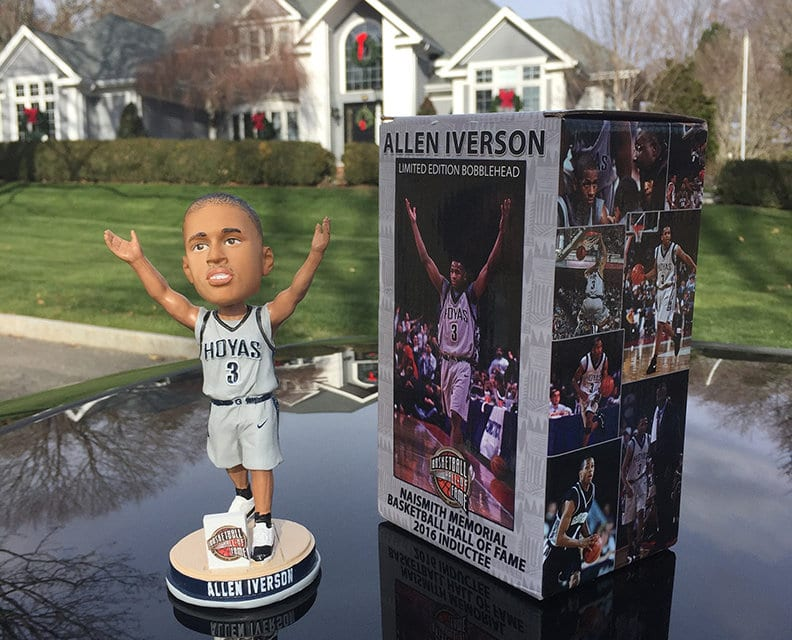 "Bobble of the Day ""Allen Iverson"""