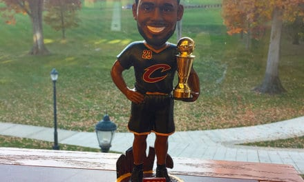 "Bobble of the Day ""Lebron James"""