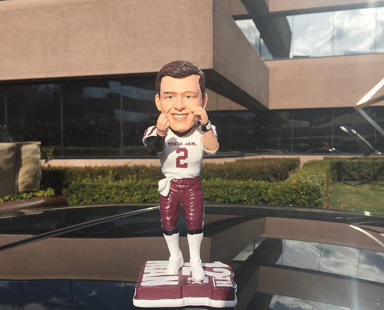 """Bobble of the Day """"Johnny Manziel"""""""