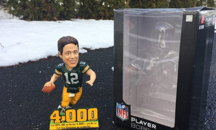 "Bobble of the Day ""Aaron Rodgers"""