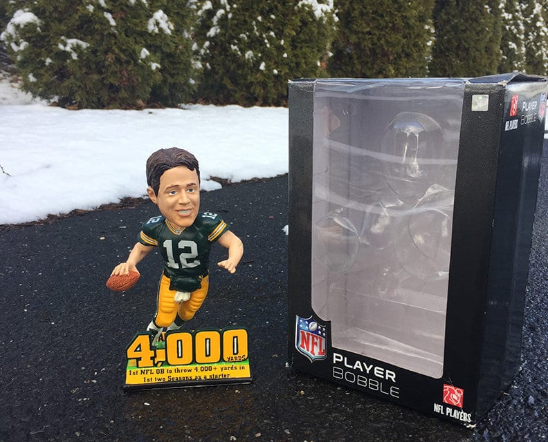 """Bobble of the Day """"Aaron Rodgers"""""""