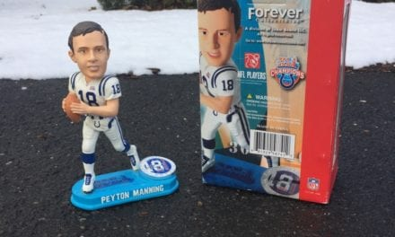 "Bobble of the Day ""Peyton Manning"""