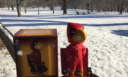 "Bobble of the Day ""Louisville Cardinal Bird"""