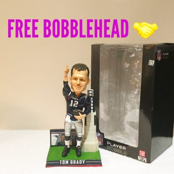 Free Bobblehead Giveaway