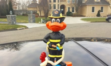 "Bobble of the Day ""Firefighter Bird"""