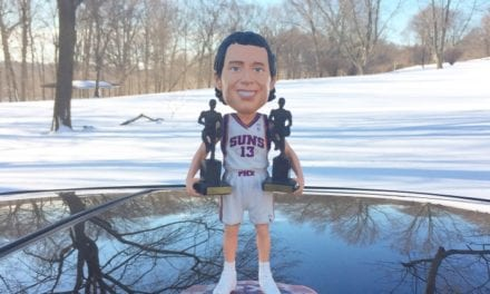 "Bobble of the Day ""Steve Nash"""