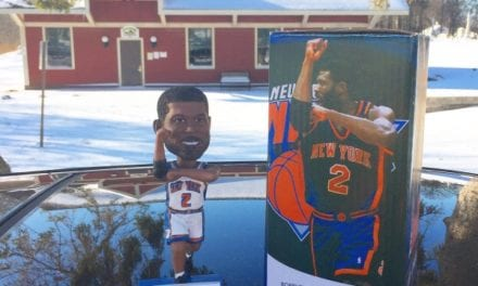 "Bobble of the Day ""Larry Johnson"""
